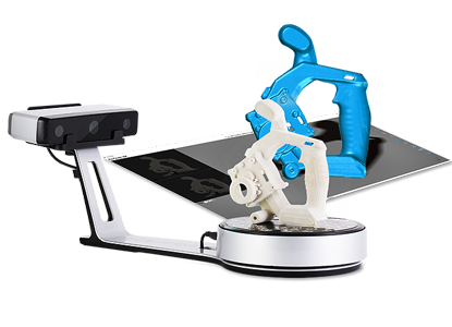 Einscan SP 3d scanner HD data capture