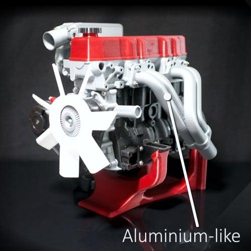 Aluminium PLA 1.75mm filament (500g)